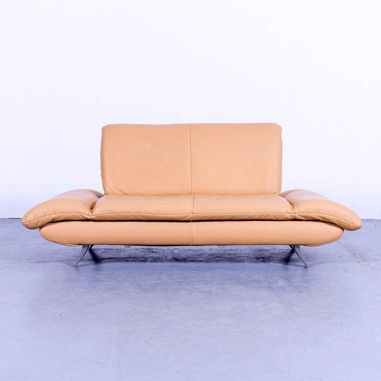 Koinor Rossini Designer Sofa Set Ocher Beige Three And Two Seat