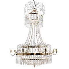 Early 18th Century Late Gustavian Chandelier