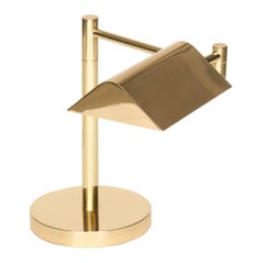 Midcentury Adjustable Brass Lamp by Koch & Lowy