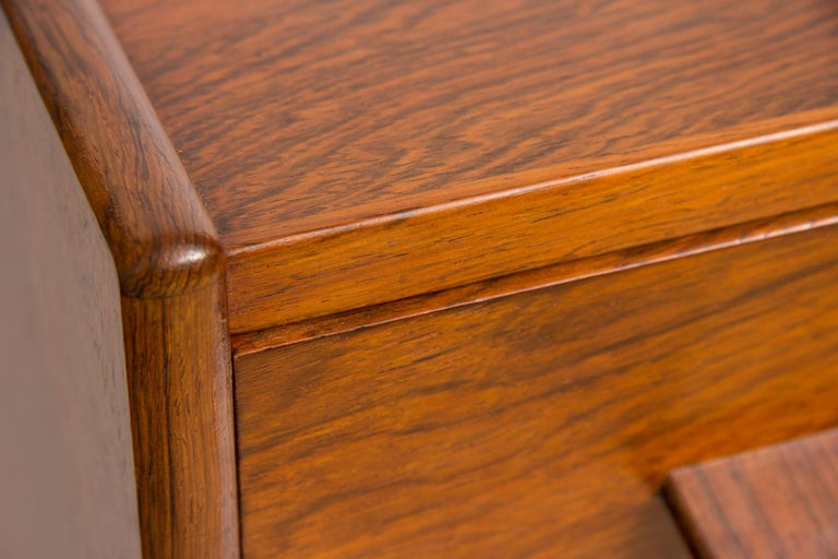 1960s Rosewood Danish Chest of Drawers by Poul Volther For Sale 1
