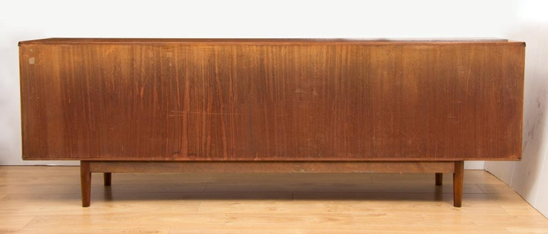 Christian Linneberg Rosewood Danish Sideboard, circa 1960 In Good Condition For Sale In Surbiton, GB
