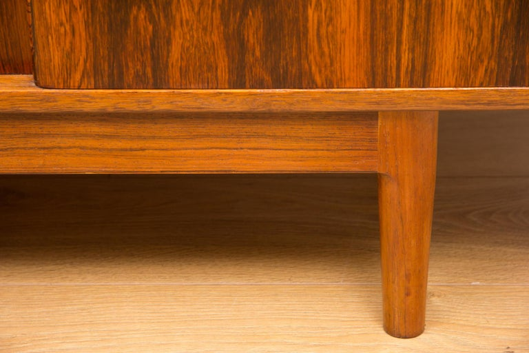 Christian Linneberg Rosewood Danish Sideboard, circa 1960 For Sale 3
