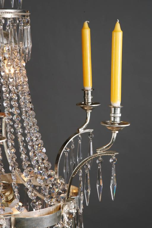 Swedish Chandelier in the Style of Classicism 2