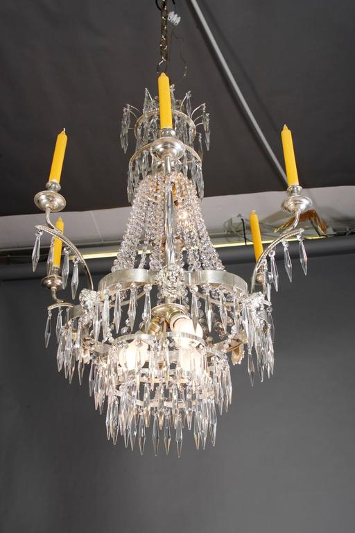 Swedish Chandelier in the Style of Classicism 8