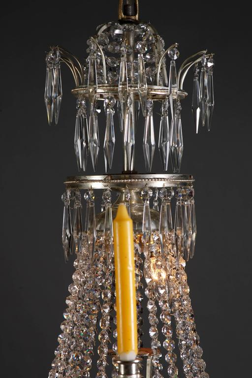 Swedish Chandelier in the Style of Classicism 4