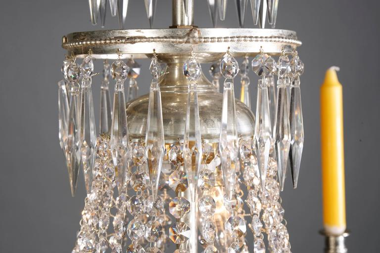 Swedish Chandelier in the Style of Classicism 5