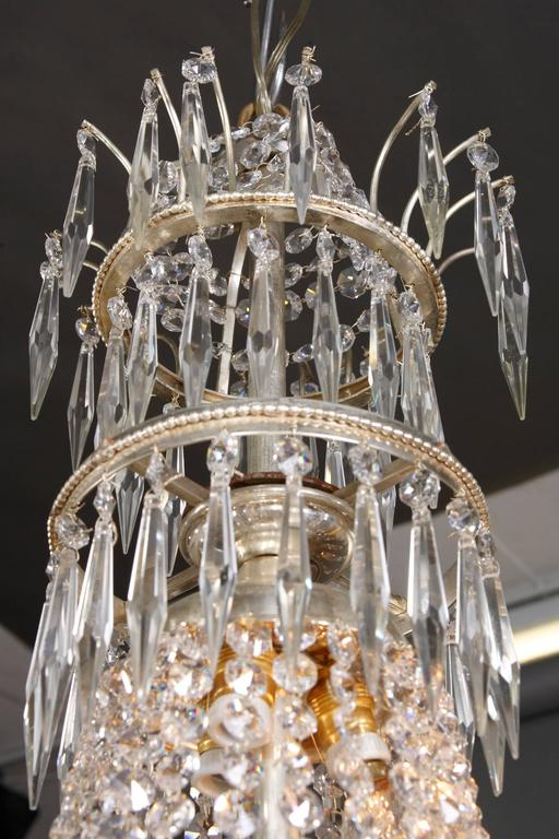 Swedish Chandelier in the Style of Classicism 9