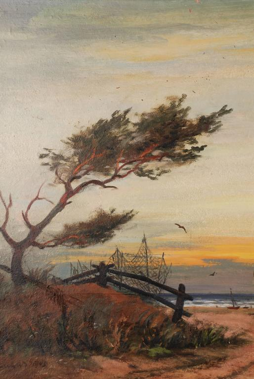 Other Rural Panorama Painting by Bruno Bielefeld For Sale