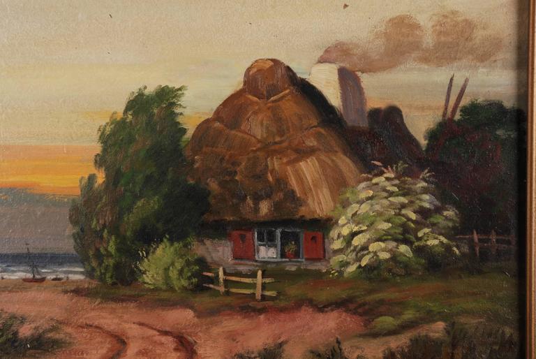German Rural Panorama Painting by Bruno Bielefeld For Sale