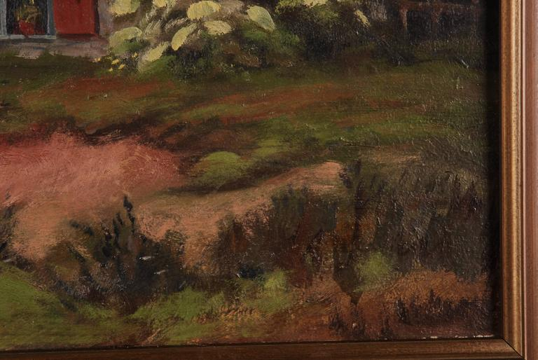 20th Century Rural Panorama Painting by Bruno Bielefeld For Sale