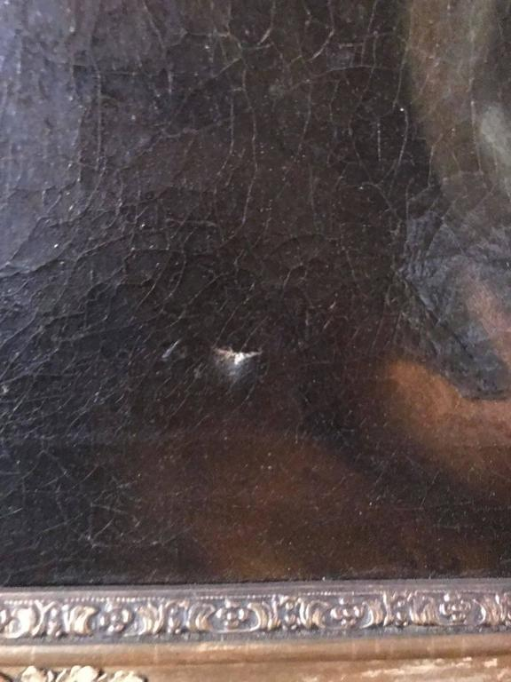 19th Century, Rare Oil Painting For Sale 2