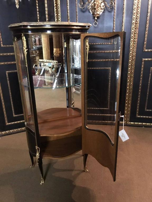 French Display Case Vitrine In The Louis Xv Style For Sale