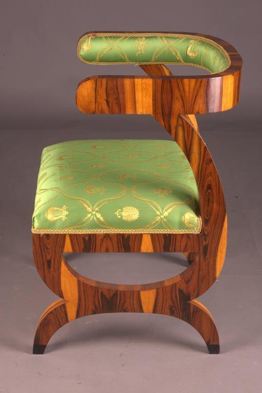 20th Century Armchair after Josef Danhauser Vienna in Biedermeier Style For Sale