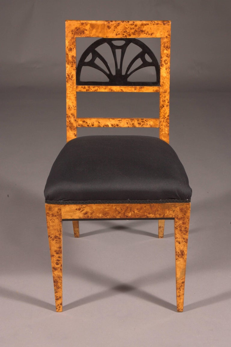 Biedermeier Very Elegant Chair in Classicist Style For Sale