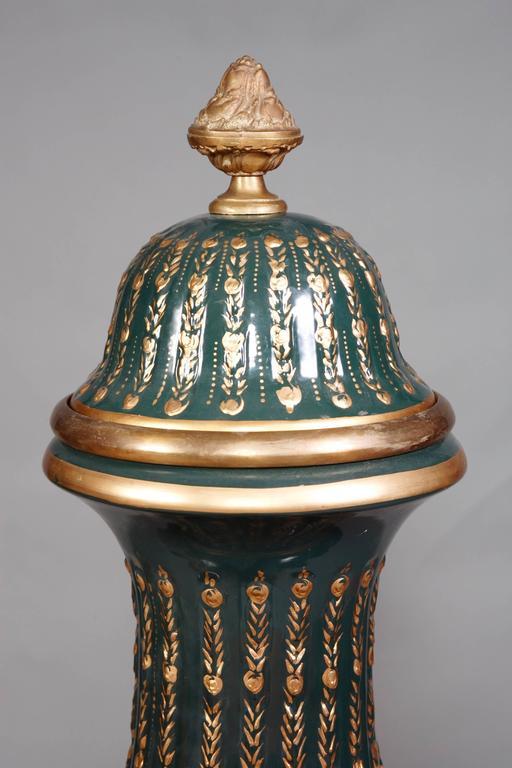 Majesatical Sevre Vase in 18th Century Style, Paris For Sale 2