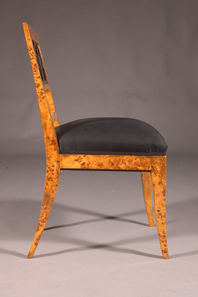 Very Elegant Chair in Classicist Style In Good Condition For Sale In Berlin, DE