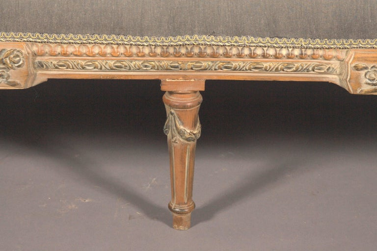 French 20th Century Classic Seating Set of Three Pieces in the Louis XVI Style For Sale
