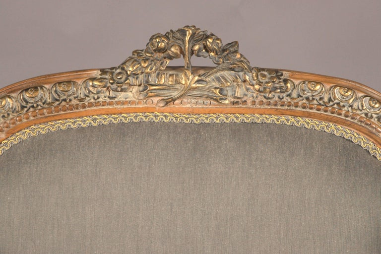 20th Century Classic Seating Set of Three Pieces in the Louis XVI Style For Sale 3