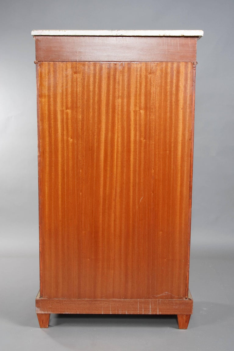20th Century Library Secretaire in the Empire Style Mahogany Veneer For Sale 6