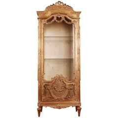 20th Century French Cabinet in the Louis Seize Style