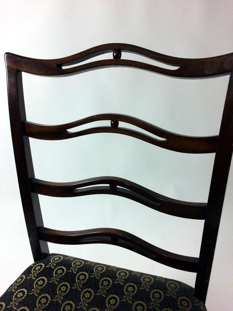 1930s Georg Kofoed Set of Six Dining Chairs in Mahogany For Sale 2