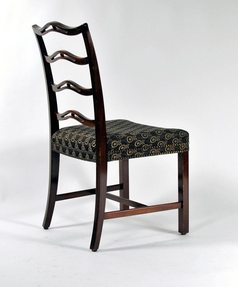 1930s Georg Kofoed Set of Six Dining Chairs in Mahogany In Good Condition For Sale In Knebel, DK