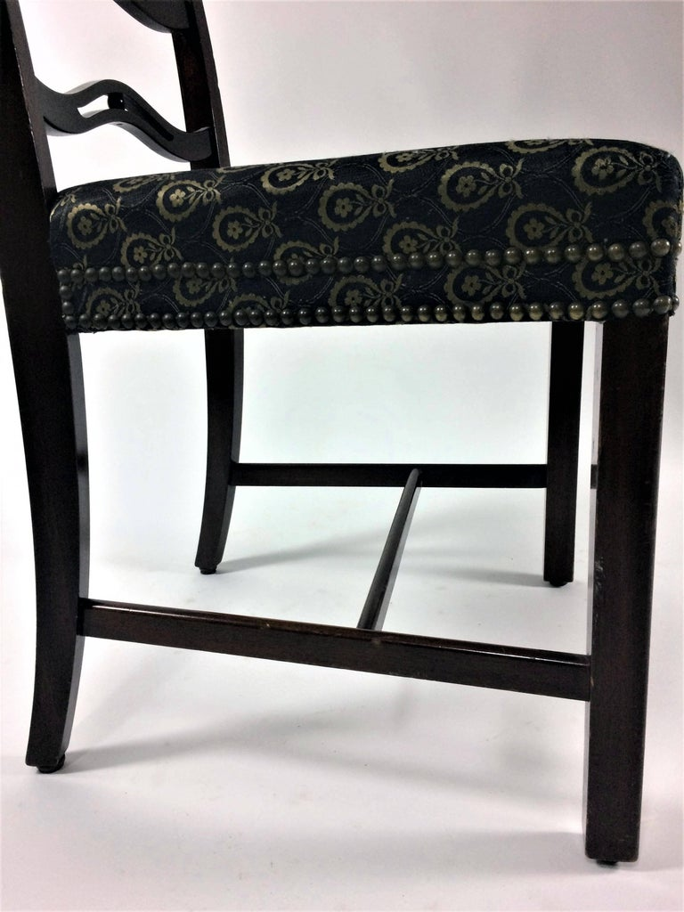 1930s Georg Kofoed Set of Six Dining Chairs in Mahogany For Sale 1