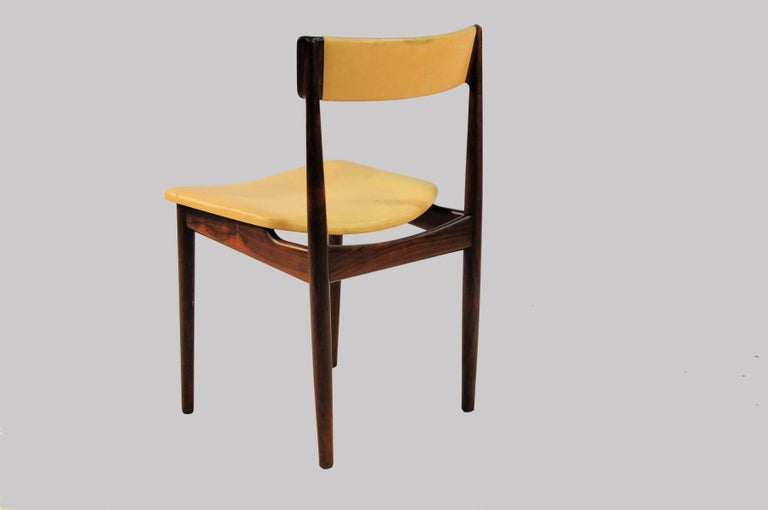 Danish 1960s Set of Ten Henry Rosengren Hansen Model 39 Dining Chairs in Rosewood For Sale