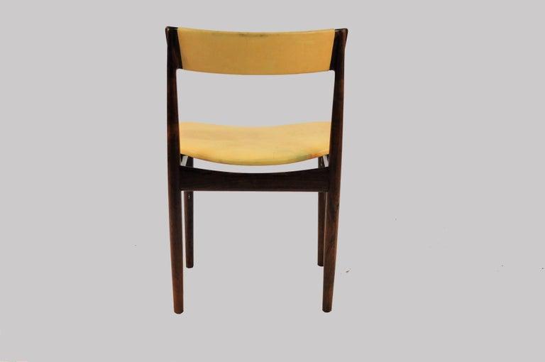 Woodwork 1960s Set of Ten Henry Rosengren Hansen Model 39 Dining Chairs in Rosewood For Sale