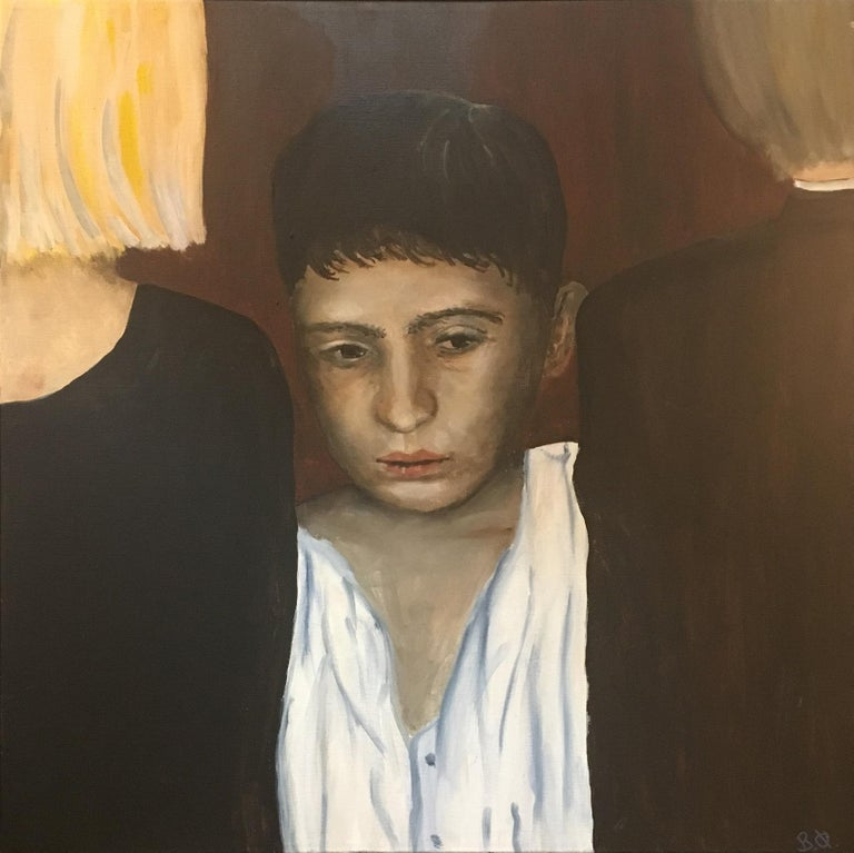 2017, Bente Ørum Painting, Loneliness