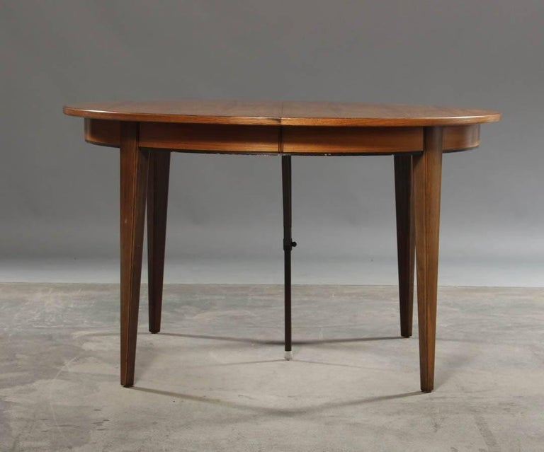 1950s Niels O Moller Circular Expandable Dinner Table in  : 6master from www.1stdibs.com size 768 x 639 jpeg 42kB