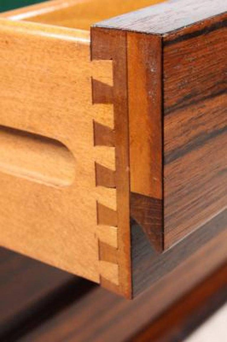 Danish 1960s Gunni Omann Rosewood Sideboard model 18 by Omann Jun For Sale