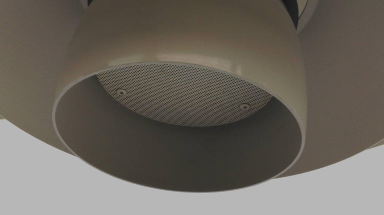 Danish 1970s PH 4 1/2-4 Metal Pendant Lamp by Poul Henningsen for Louis Poulsen For Sale