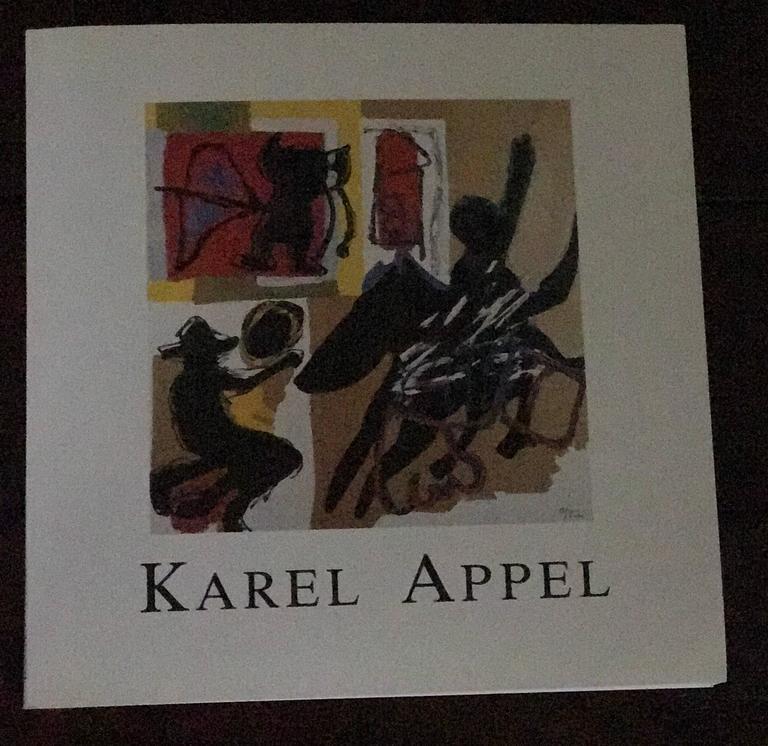 Hand-Painted Karel Appel Cobra