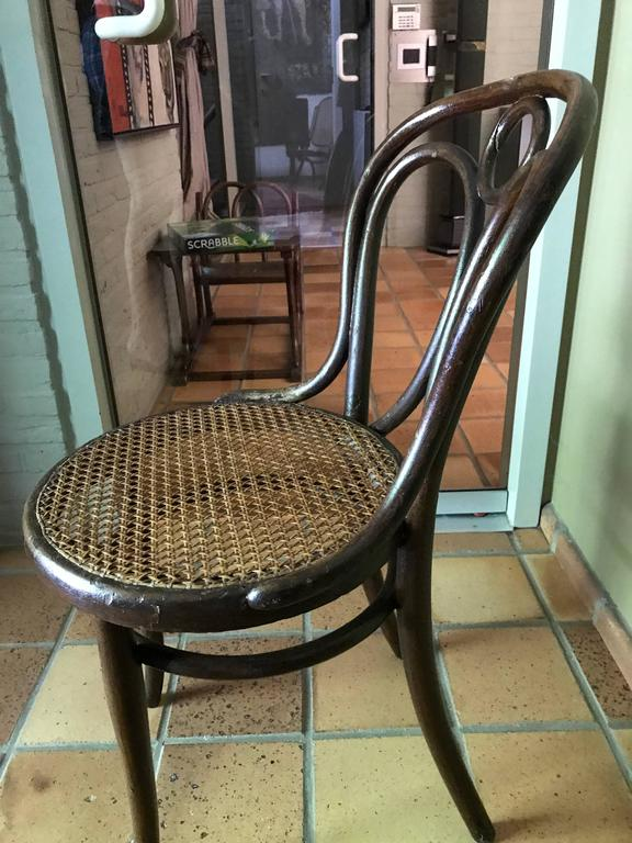 Uitgelezene Thonet bentwood Chair nr 19 Original Patina Stamp by Thonet, 1890 IZ-57