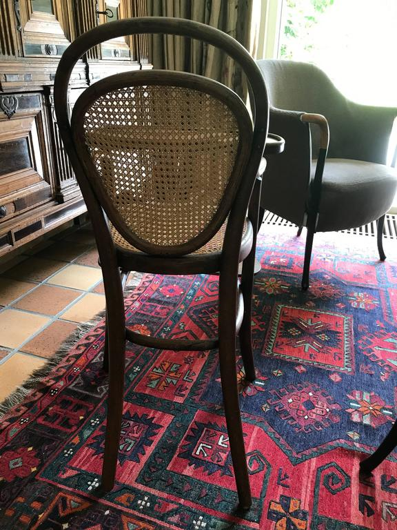 Hand-Crafted Thonet bentwood  Child Chair Nr 1 Stamped Thonet 1904 Kinder 'Stoel' Stuhl! For Sale
