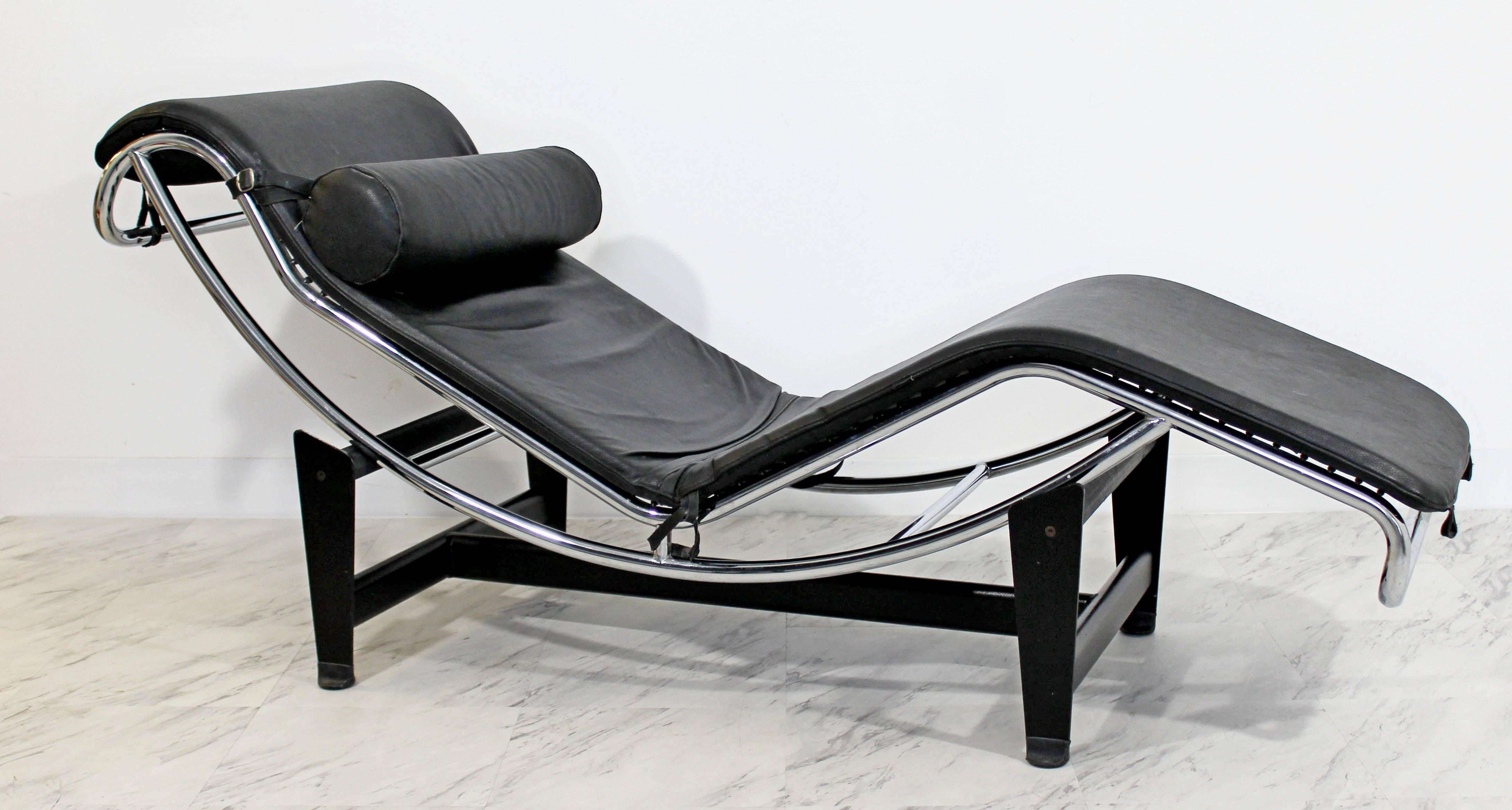 furniture free of le top chaise genuine lounges leather black style lounge preferred corbusier throughout