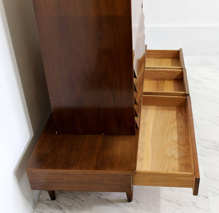 Mid-Century Modern Secretary Dania Collection American of Martinsville Gershun For Sale 1