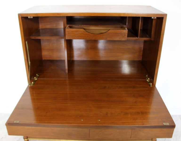 Mid-Century Modern Secretary Dania Collection American of Martinsville Gershun For Sale 4