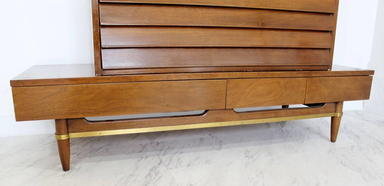 Mid-Century Modern Secretary Dania Collection American of Martinsville Gershun For Sale 5
