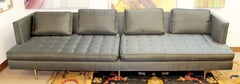 Mid Century Modern Edward Wormley for Dunbar Chamberlain Model 4907a Sofa