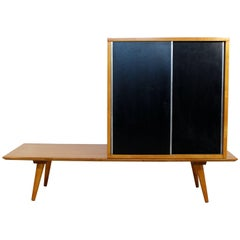 Mid-Century Modern Paul McCobb Planner Group Coffee Table and Cabinet Bench