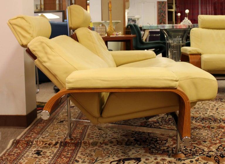 Contemporary Modern Nelo Sweden Reclining Sofa Pair Of
