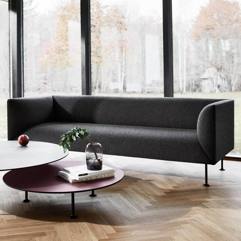 Godot Three-Seater Sofa by Iskos-Berlin For Sale 2