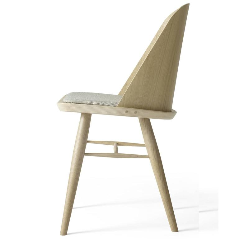 Synnes Dining Chair by Falke Svatun, Natural Oak / Grey Melange 2