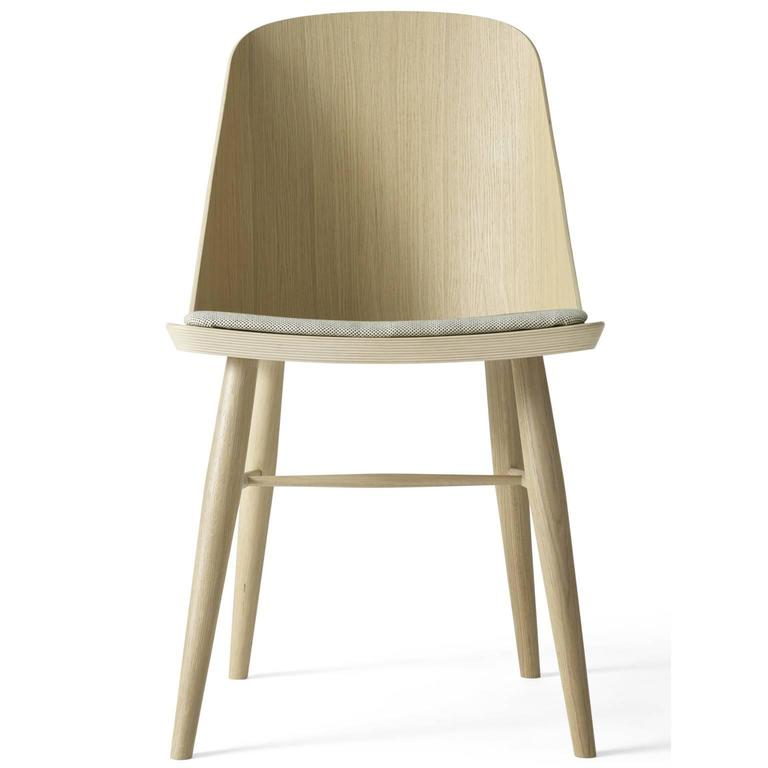 Synnes Dining Chair by Falke Svatun, Natural Oak / Grey Melange 3