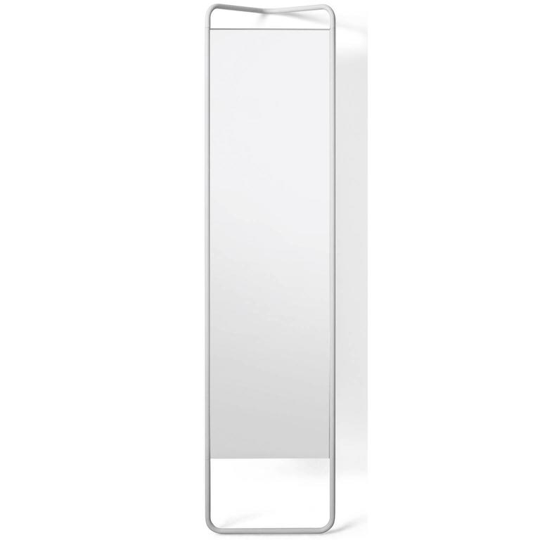 Kaschkasch floor mirror by kaschkasch cologne in white or for Floor mirror white frame