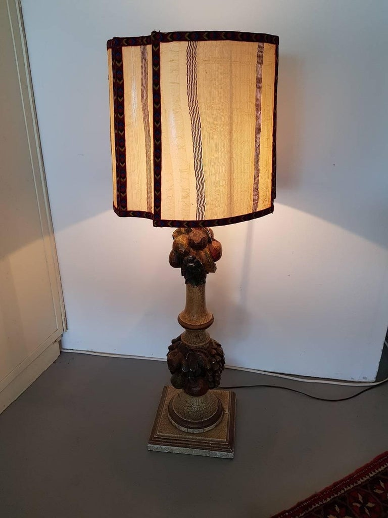 Brass Table Lamp Makeover
