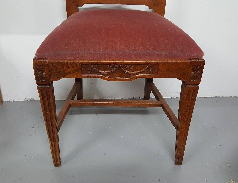 Louis Xvi Stoel : Late 18th century dutch oak louis xvi chair at 1stdibs