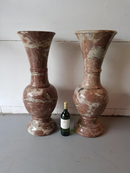 20th Century Large Italian Marble Vases For Sale At 1stdibs